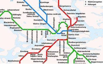Schweden: Die U-Bahn in Stockholm